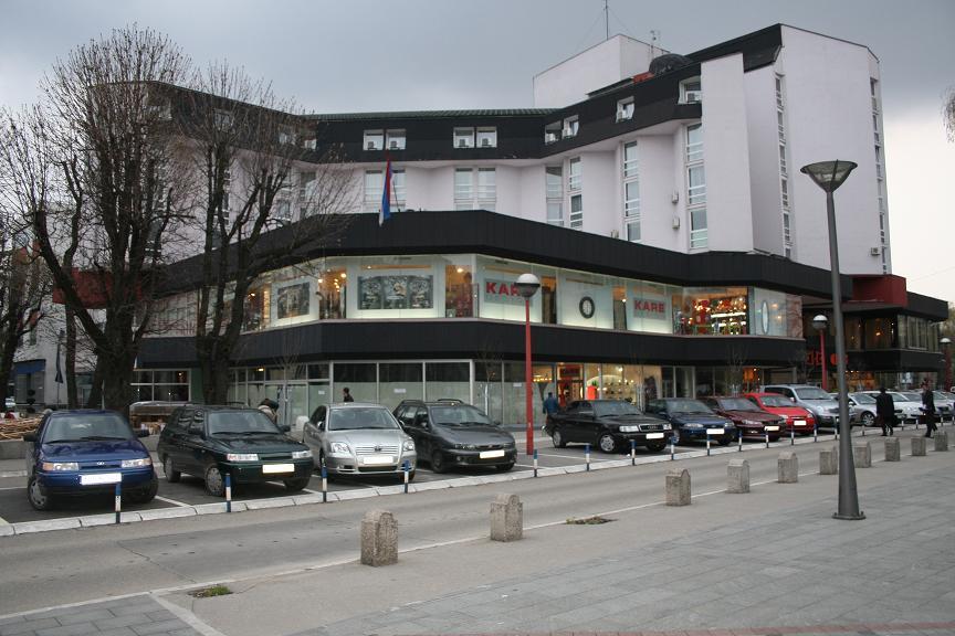 Hotel Bosna,  Kralja Petra I Karađorđevića br. 97