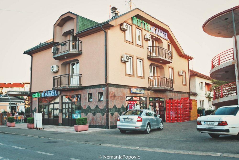 Hotel Kamel, ul. Slobodana Jovanovića br.41