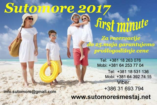 Privatni smeštaj Stanković- Sutomore 2017, Brca 201,Sutomore,Crna Gora