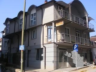 Hosteli smeštaj, Prokuplje, Objekat je smesten u Kosovskoj ulici br. 38.